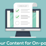 Content Marketing Strategy - On-Page SEO